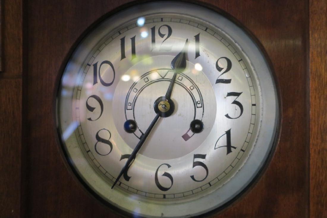 RICHARD MUHLE East German Walnut Case Wall Clock: - 2