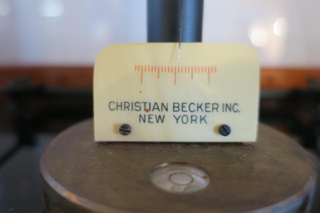 CHRISTIAN BECKER Chainomatic Analytical Scale: - 6