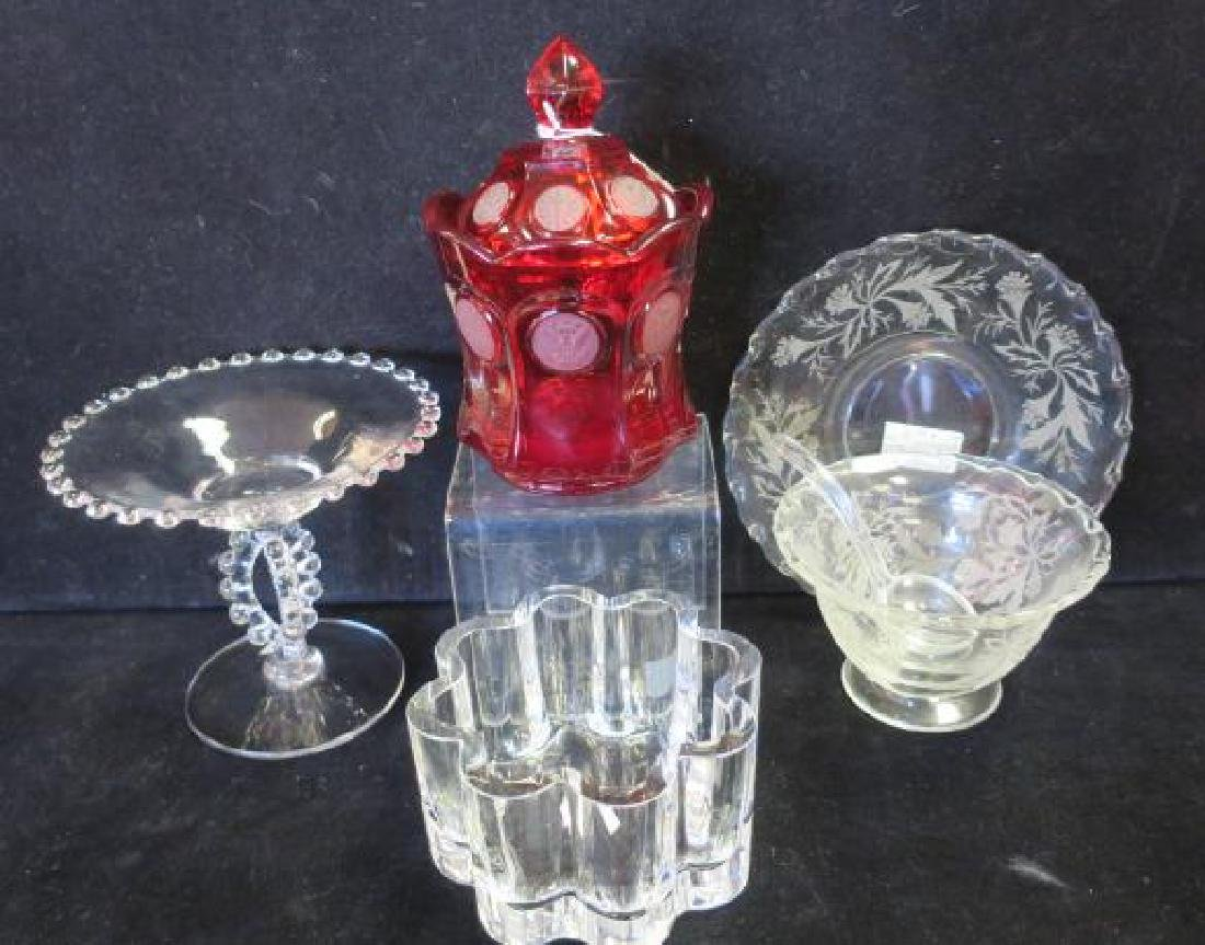 Glass Gift Package for Four, FOSTORIA, ORREFORS, More: