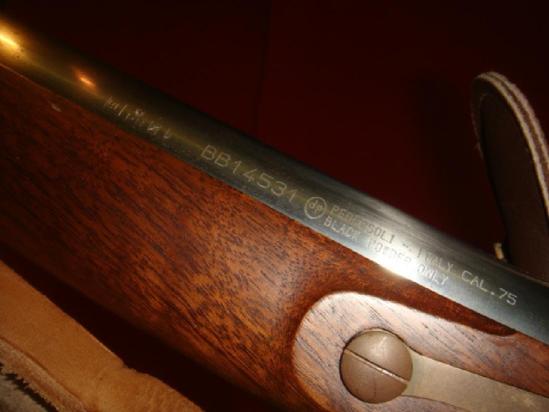 PEDERSOLI 75 CAL Black Powder Musket: - 3