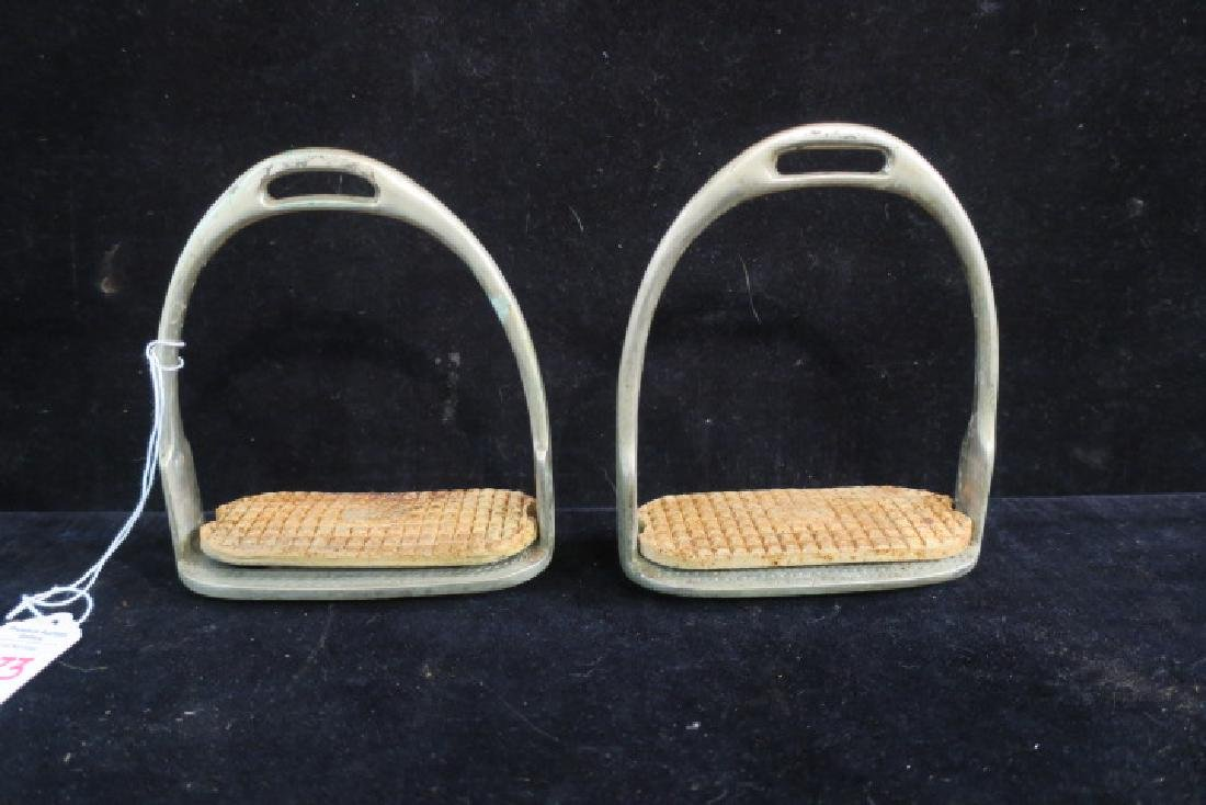 Seven Brass, Aluminum and Iron Open Style Stirrups: - 3