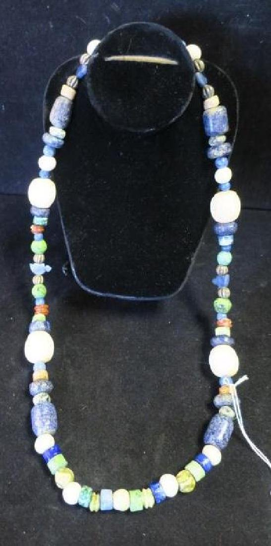 Handcrafted Chunky Bead Ethnic Necklace:
