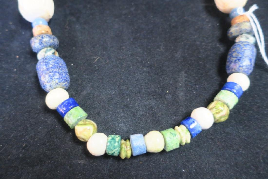Handcrafted Chunky Bead Ethnic Necklace: - 4