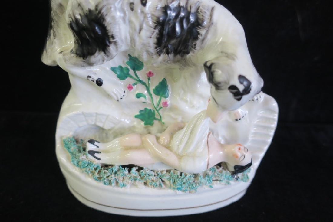 Staffordshire Rescue Dog Spill Vase: - 2