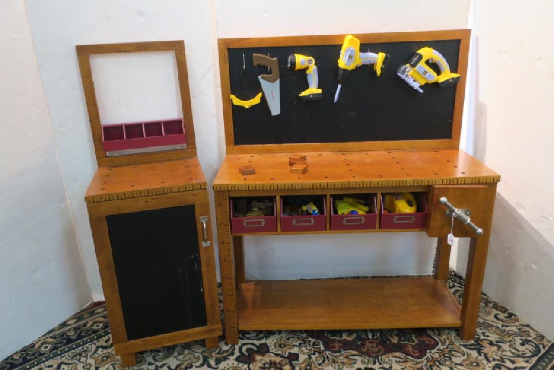 Young Master Craftsman Workbench with Accessories: