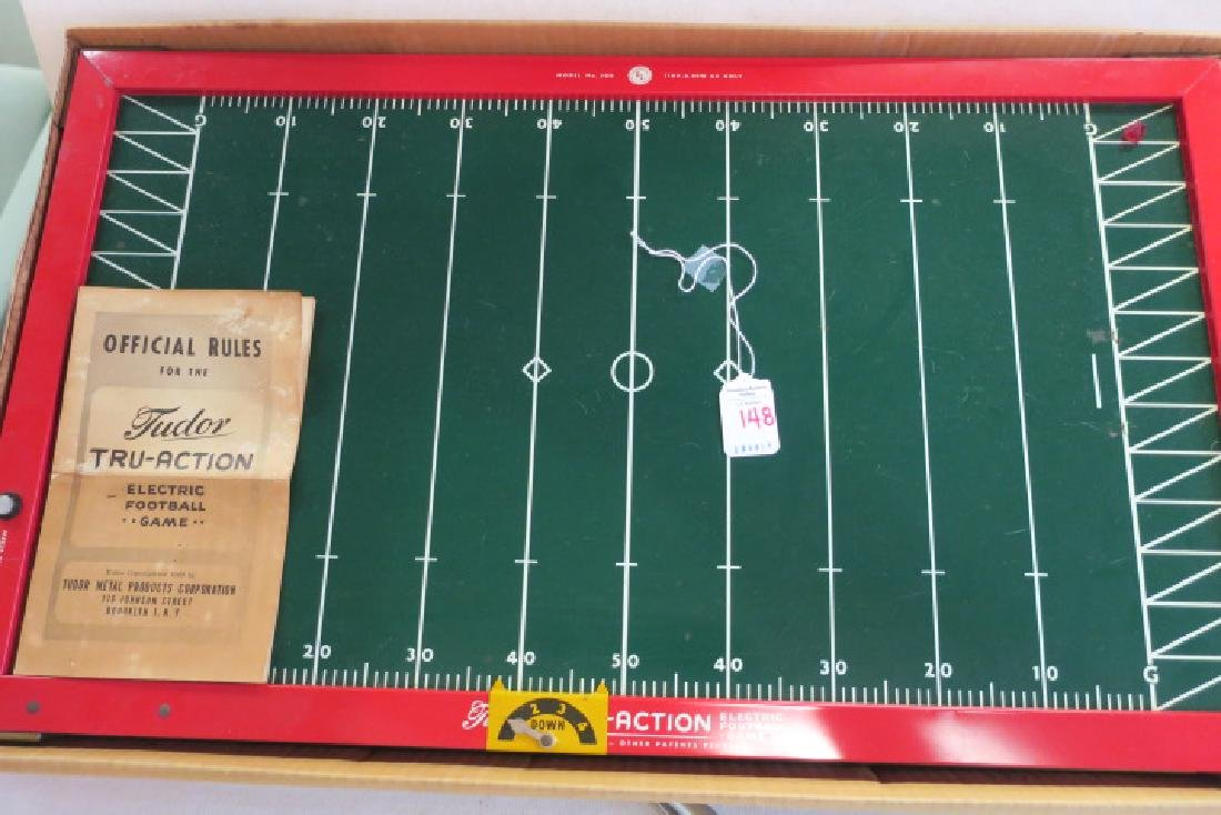 TUDOR TRU ACTION 1949 Electronic Football Game: