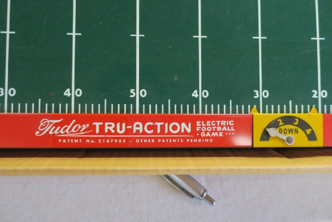 TUDOR TRU ACTION 1949 Electronic Football Game: - 4