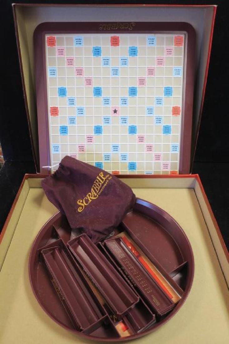 Deluxe Turntable SCRABBLE Crossword Game: