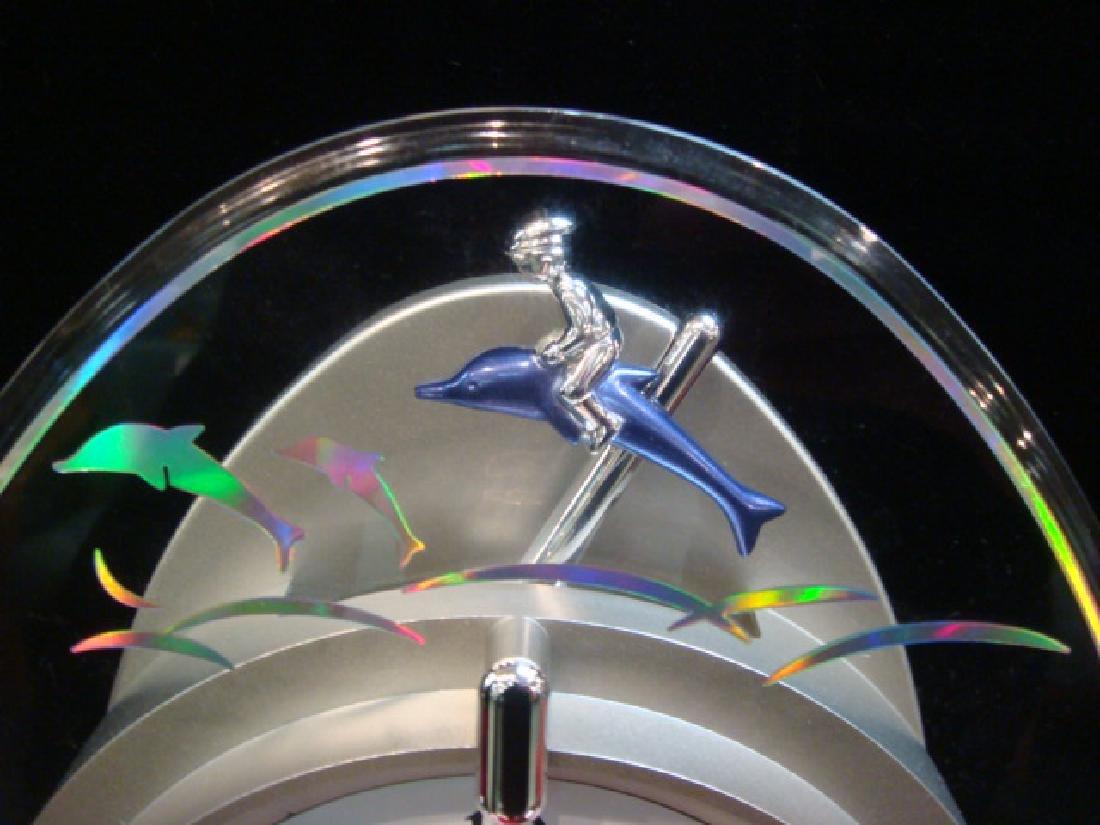 Small World Rhythm Dolphin Musical Wall Clock: - 3