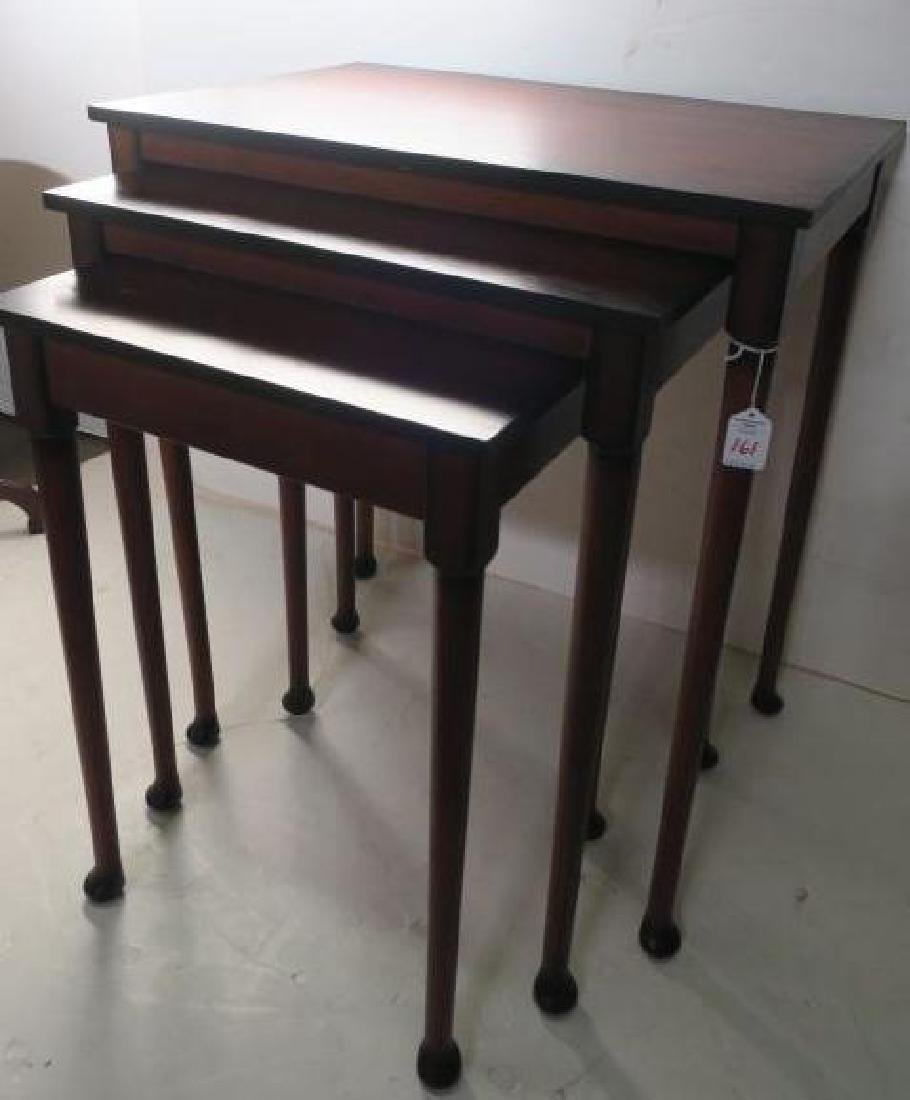 Set of Three BOMBAY CO. Nesting Tables: