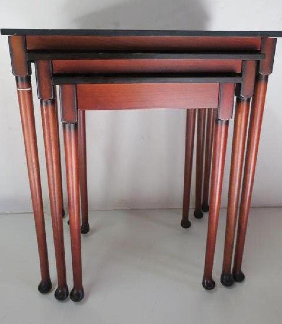 Set of Three BOMBAY CO. Nesting Tables: - 2