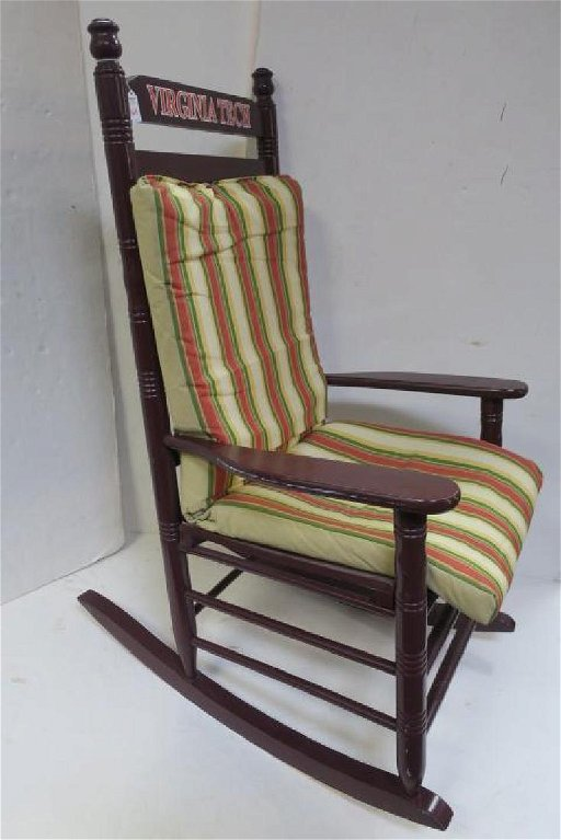 Stupendous Virginia Tech Cracker Barrel Rocking Chair Gmtry Best Dining Table And Chair Ideas Images Gmtryco