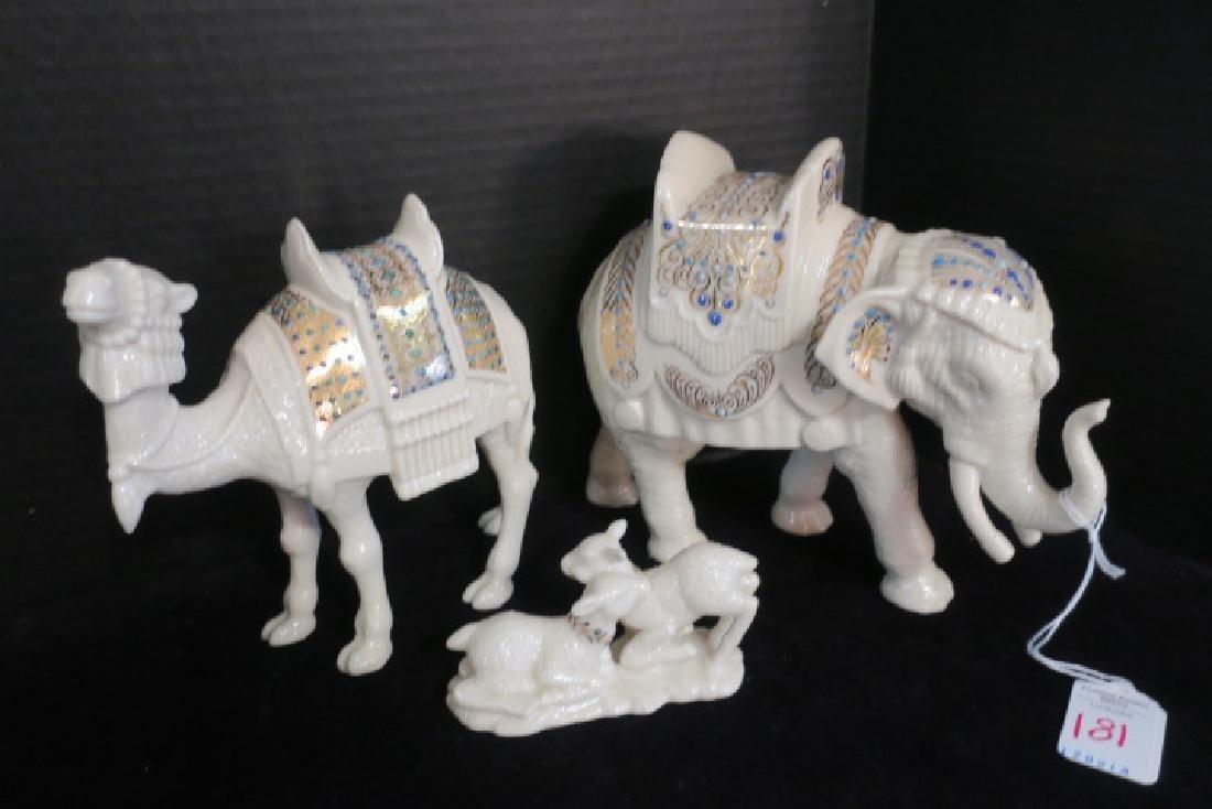LENOX China Jewels Nativity Display, 13 Pieces: - 4