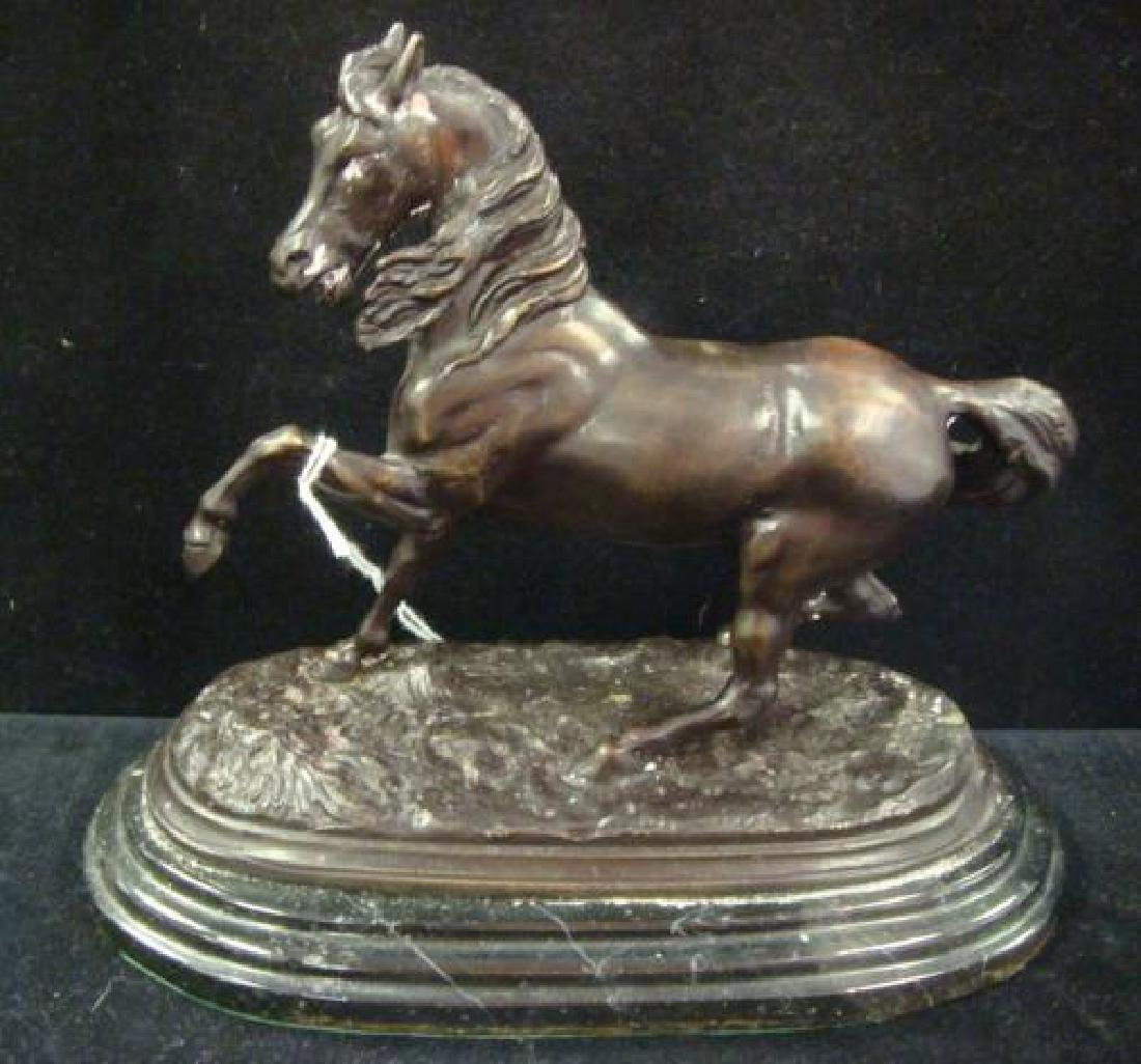 Bronze Horse Signed BARRIE: