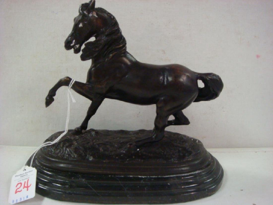 Bronze Horse Signed BARRIE: - 2
