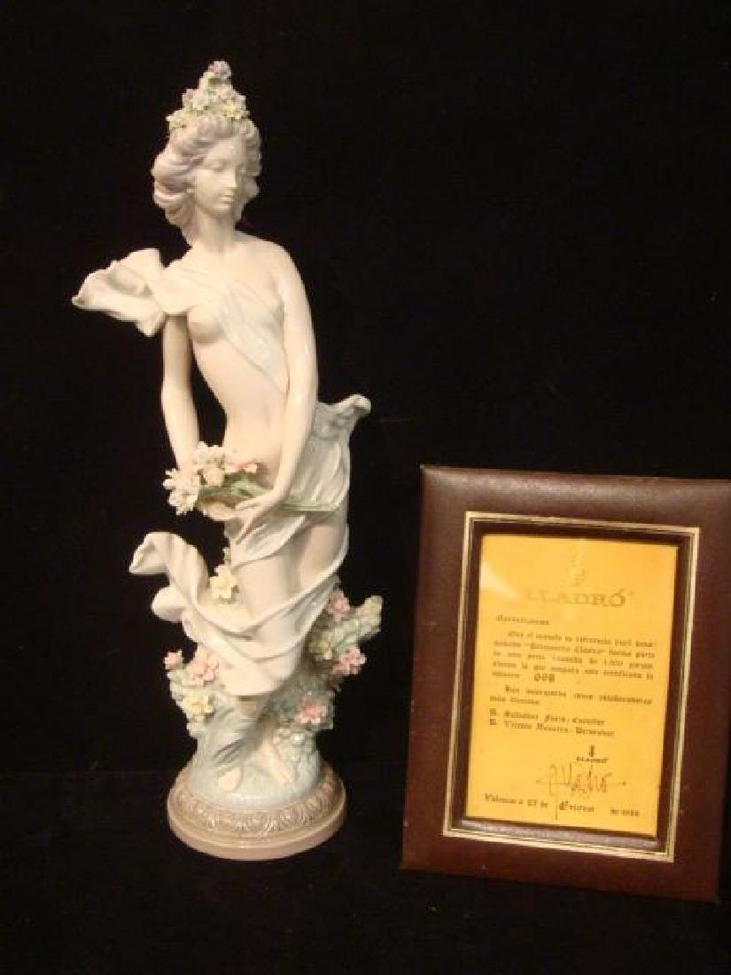 """LLADRO Signed Limited Edition """"Classic Spring"""":"""