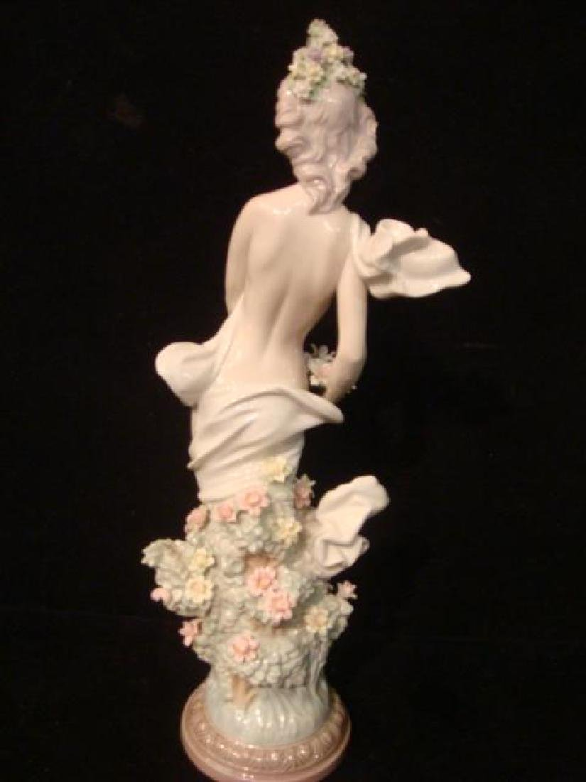 """LLADRO Signed Limited Edition """"Classic Spring"""": - 4"""