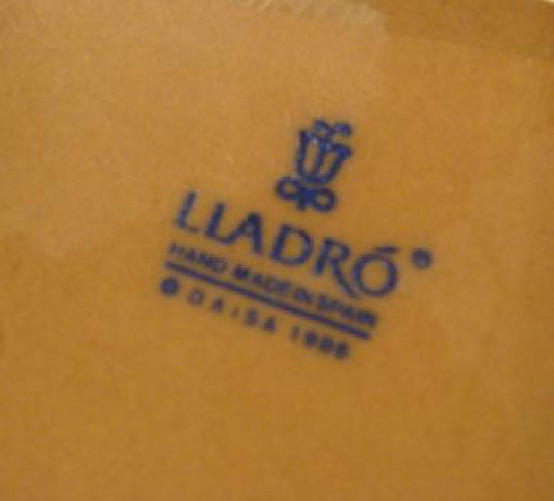 "LLADRO Gres Finish ""Ahoy There"" Boy and Girl Figures: - 3"