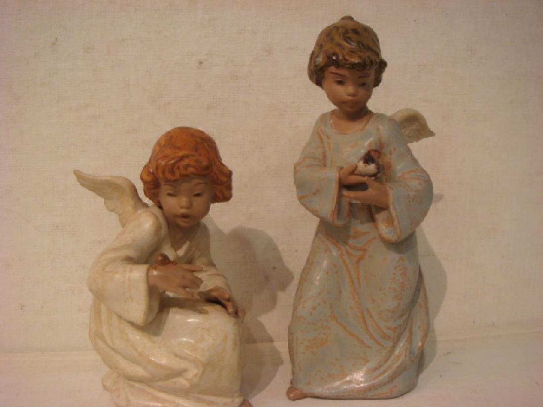 LLADRO Seaside Angel and Friends in Flight Figurines: