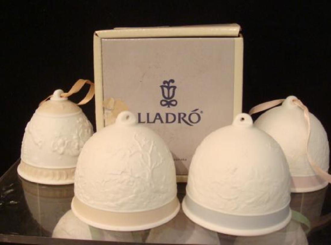 Seventeen LLADRO Christmas and Seasons Bells: - 2