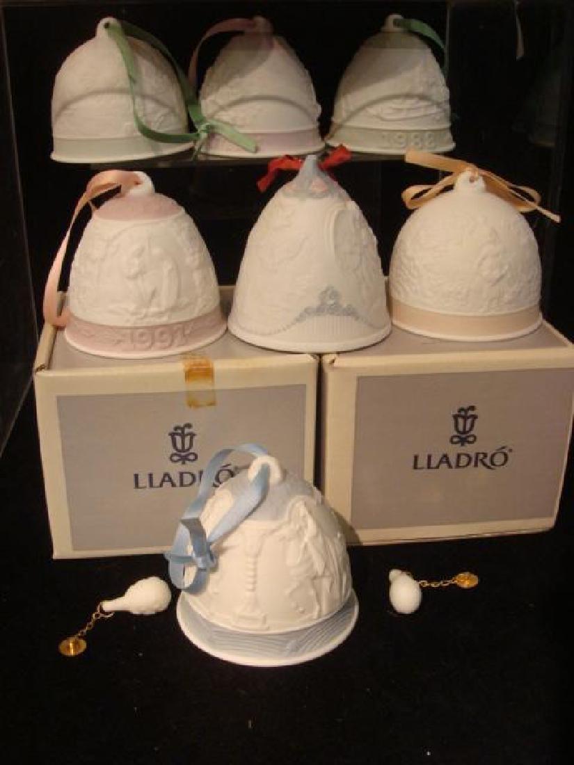 Seventeen LLADRO Christmas and Seasons Bells: - 3