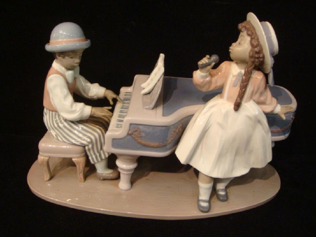 "LLADRO ""Jazz Duo"" Large Figurine:"
