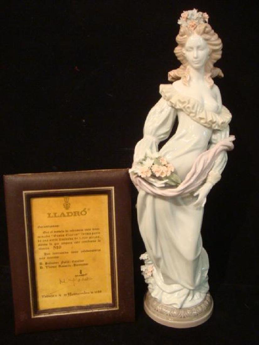 """LLADRO Signed """"Classic Fall"""" Figurine Limited Edition:"""