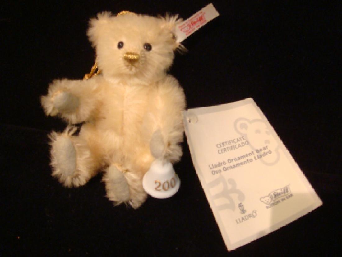 Rare LLADRO STEIFF Bear Ornament 2007: