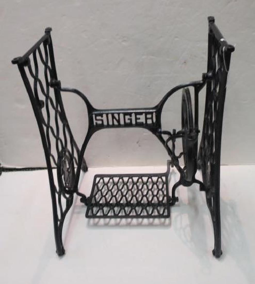 SINGER Wrought Iron Sewing Machine Base: