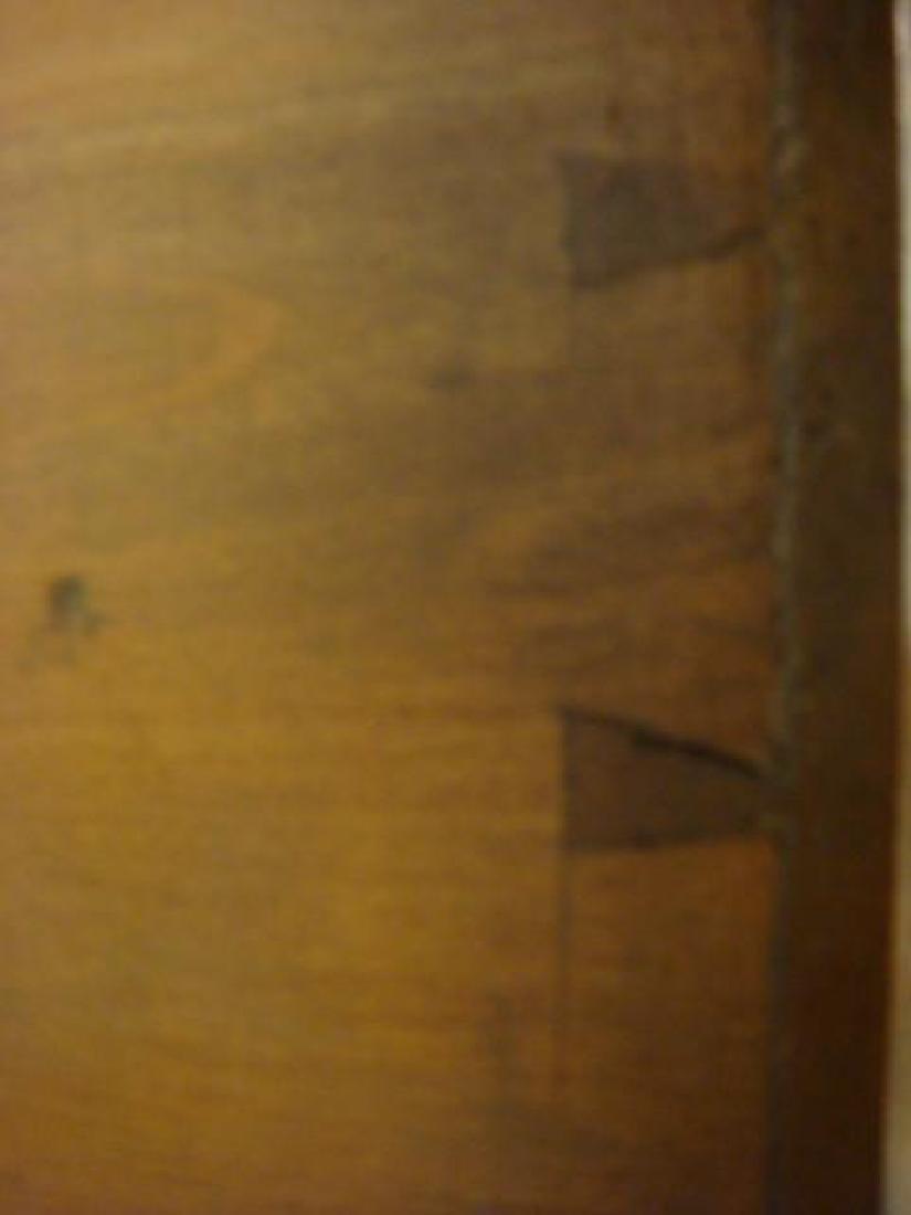 Antique Pine Plantation Desk with Double Lift Top: - 5