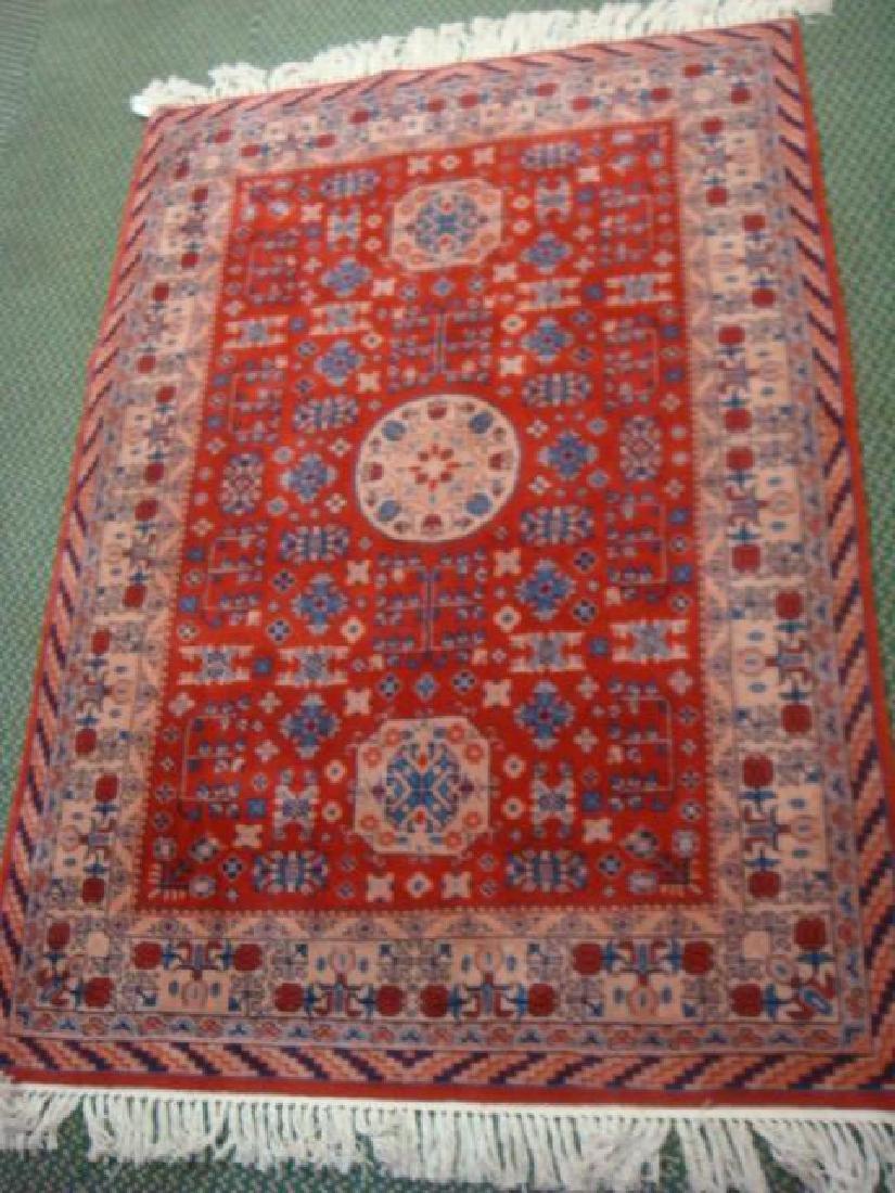Hand Loomed Persian Area Rug: