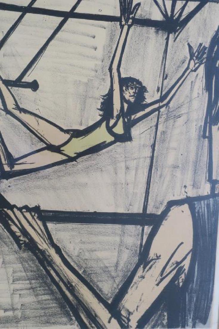 BERNARD BUFFET, THE TRAPEZE ARTISTS, S/N Lithograph: - 2