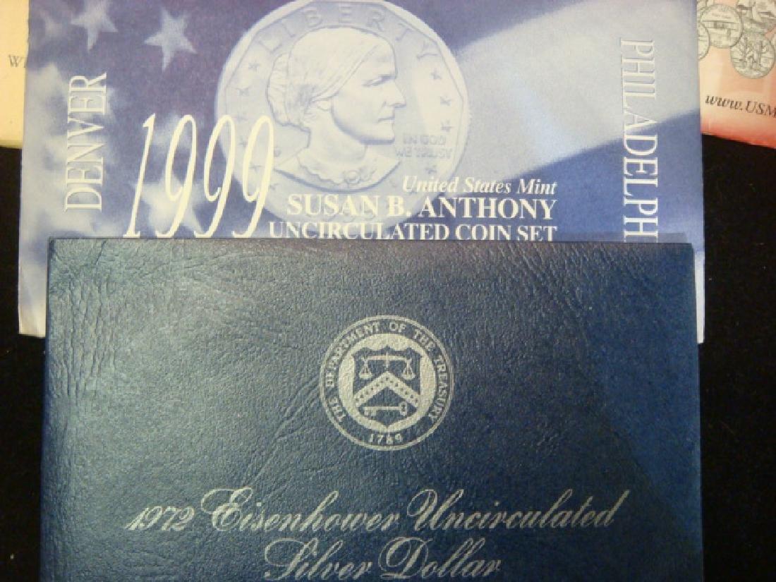 Twelve US MINT UNCIRCULATED COIN SETS: - 2