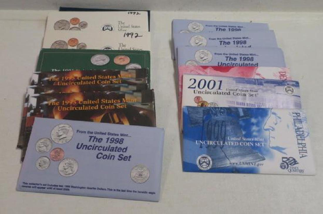 Fourteen (14) US MINT UNCIRCULATED COIN SETs: