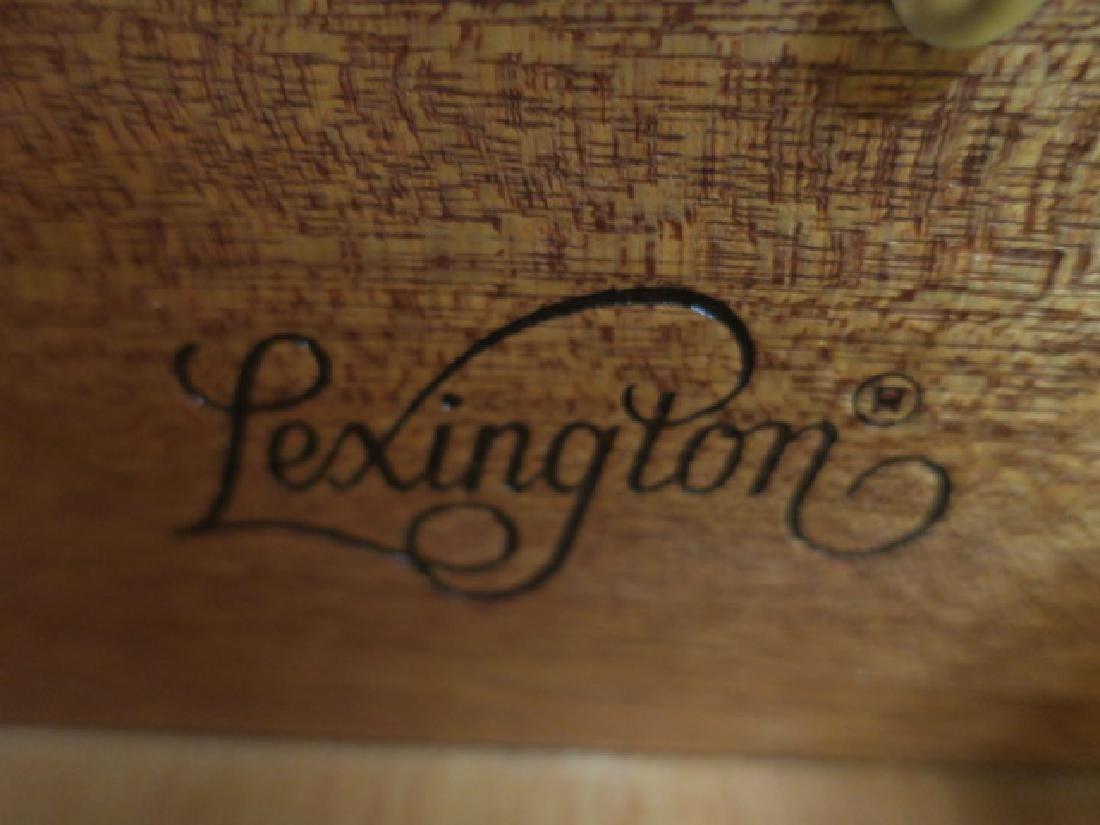 LEXINGTON Two Drawer Cherry Lowboy: - 3