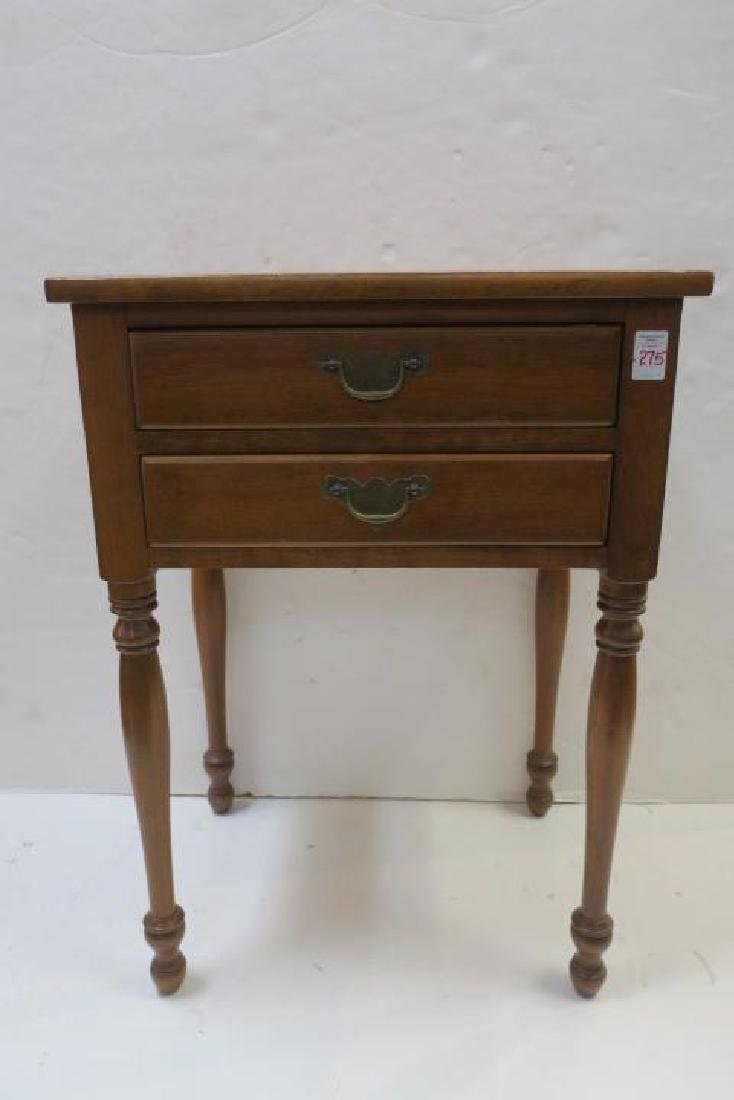 Drexel WALLACE NUTTING COLLECTION Maple Night Stand: