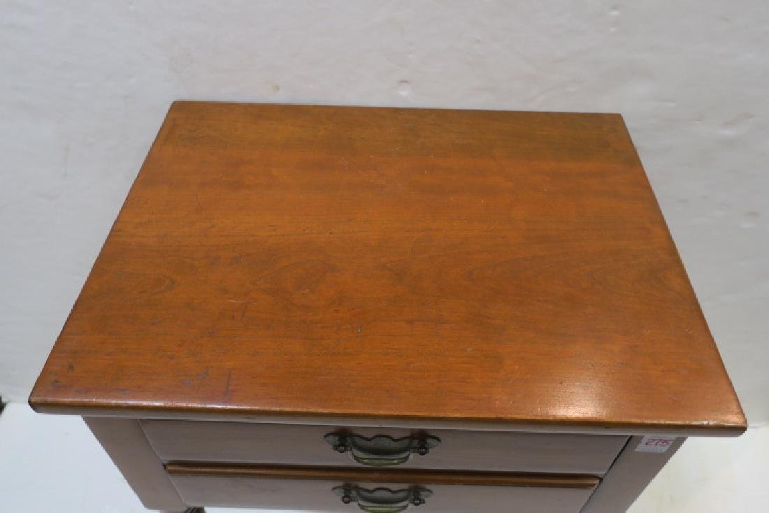 Drexel WALLACE NUTTING COLLECTION Maple Night Stand: - 2