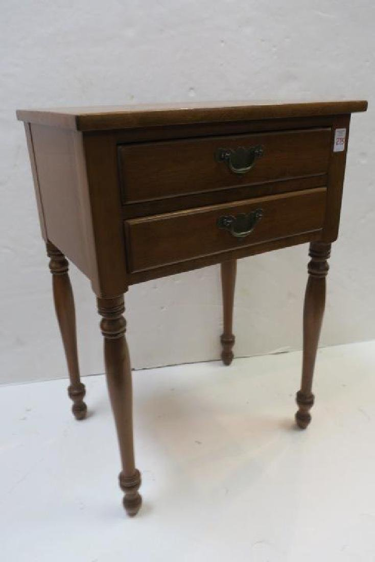 Drexel WALLACE NUTTING COLLECTION Maple Night Stand: - 5