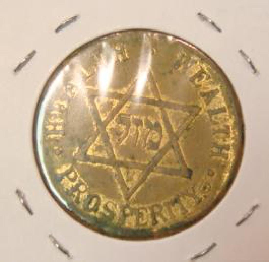 1933 FDR Inauguration Token Jewish Inauguration Party: - 2