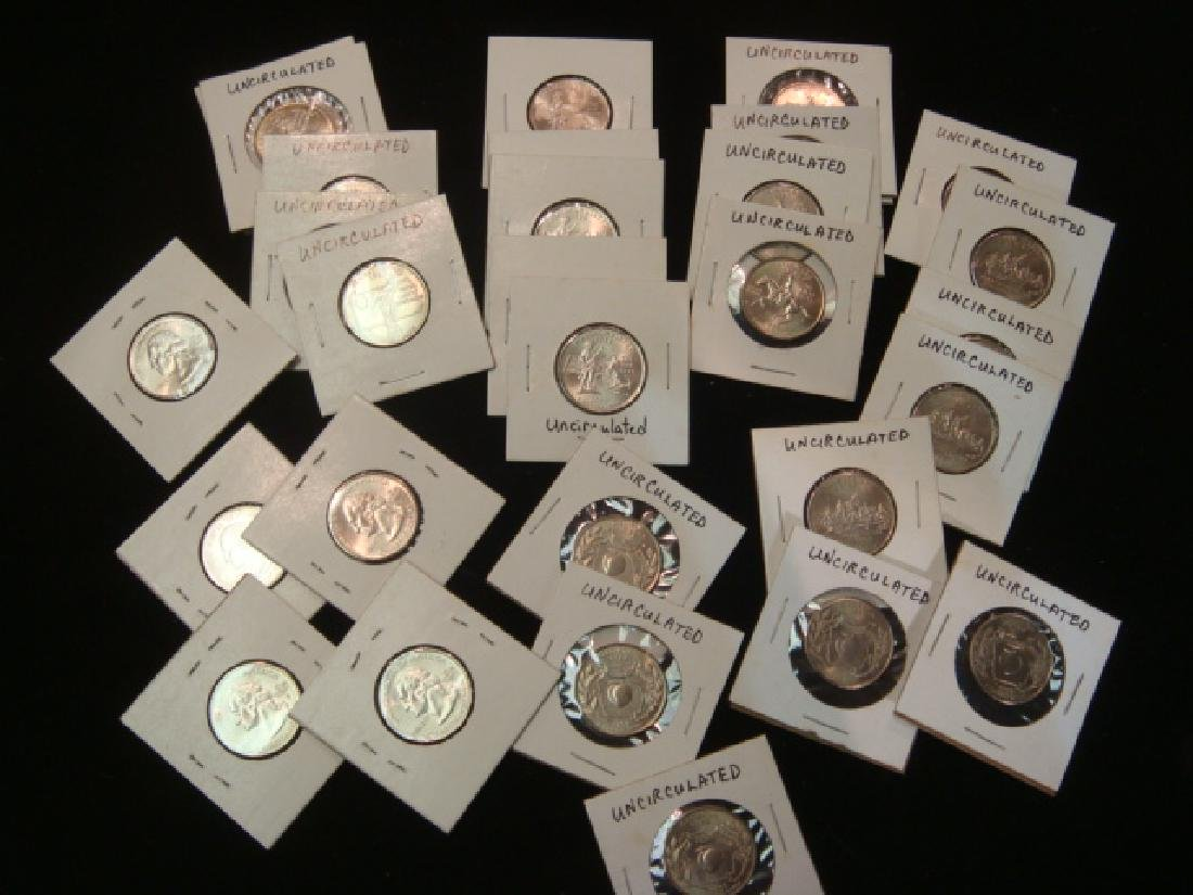 """30 """"UNCIRCULATED"""" 50 State Quarters:"""