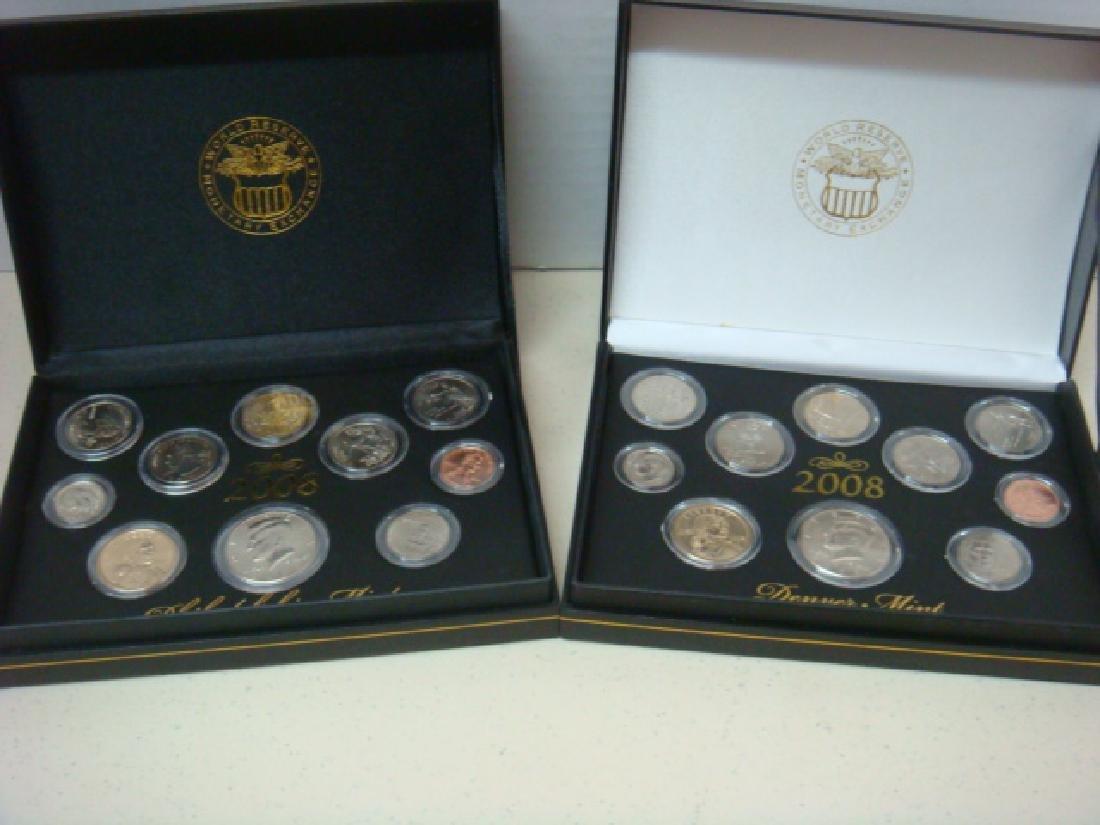 2008 Never-Circulated Coins, DENVER & PHILADELPHIA: