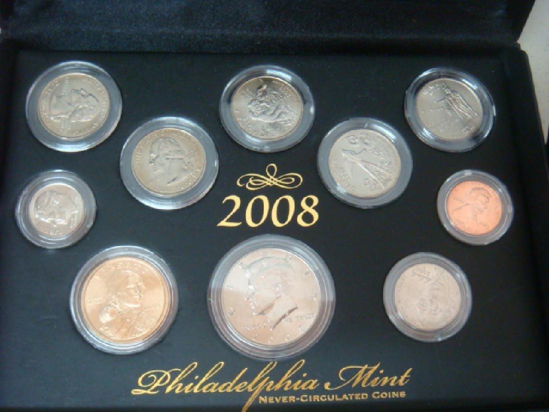2008 Never-Circulated Coins, DENVER & PHILADELPHIA: - 2