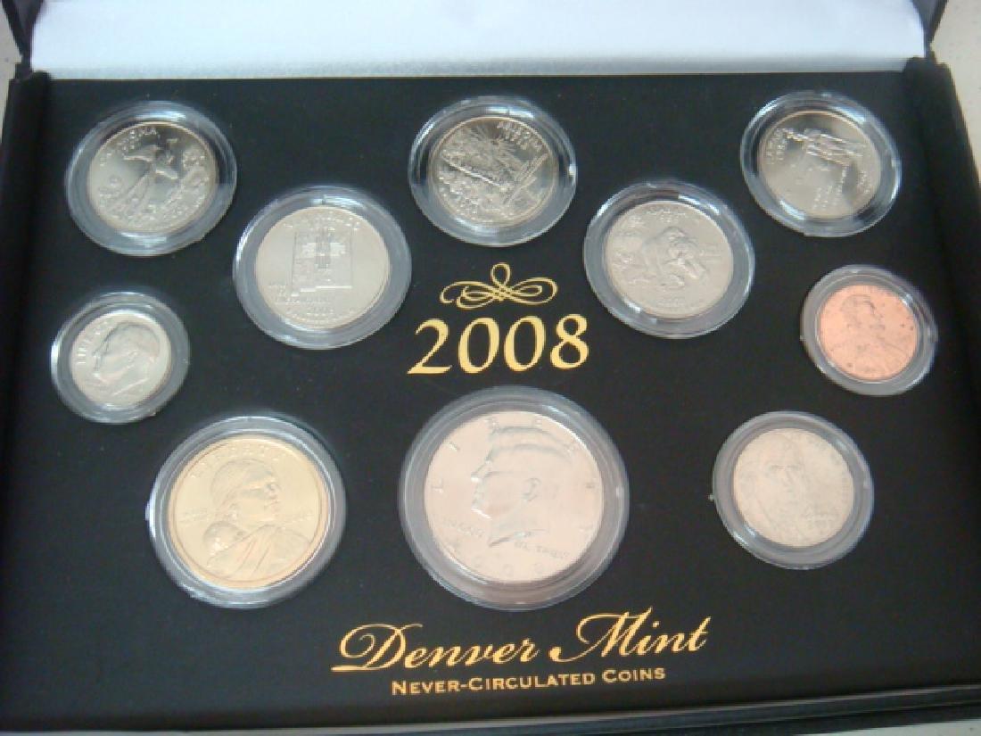 2008 Never-Circulated Coins, DENVER & PHILADELPHIA: - 3