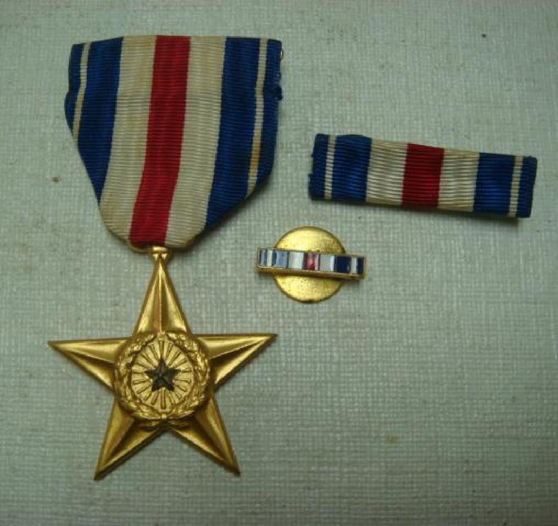 US Army SILVER STAR MEDAL; FOR GALLENTRY IN ACTION: