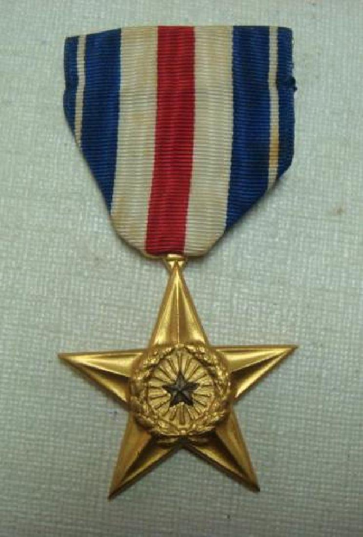 US Army SILVER STAR MEDAL; FOR GALLENTRY IN ACTION: - 3