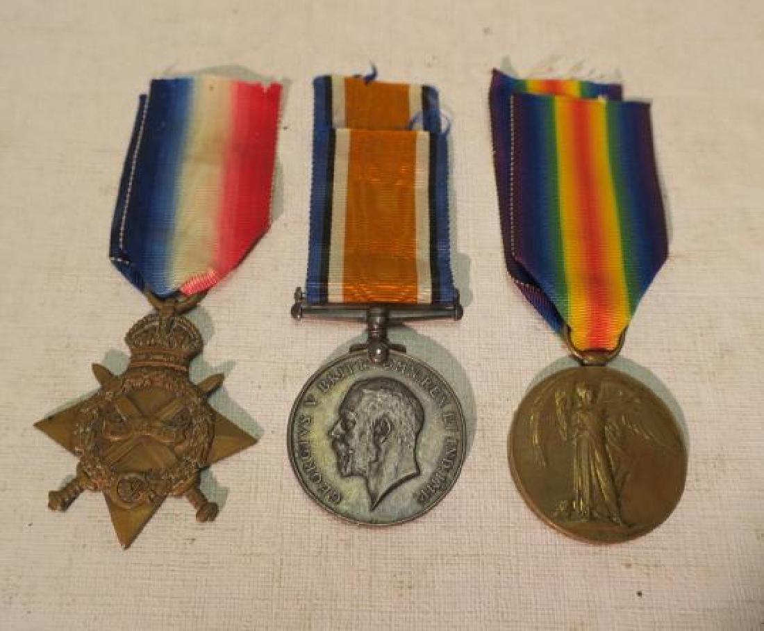 """British World War One Medals """"PIP, SQUEAK & WILFORD"""""""