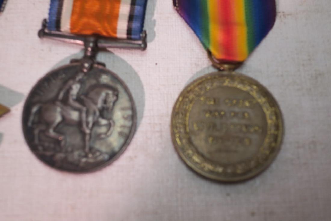 """British World War One Medals """"PIP, SQUEAK & WILFORD"""" - 2"""