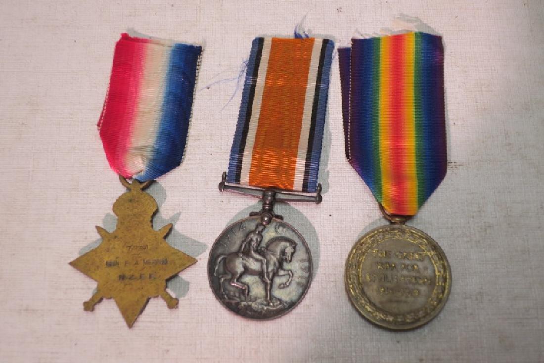 """British World War One Medals """"PIP, SQUEAK & WILFORD"""" - 3"""