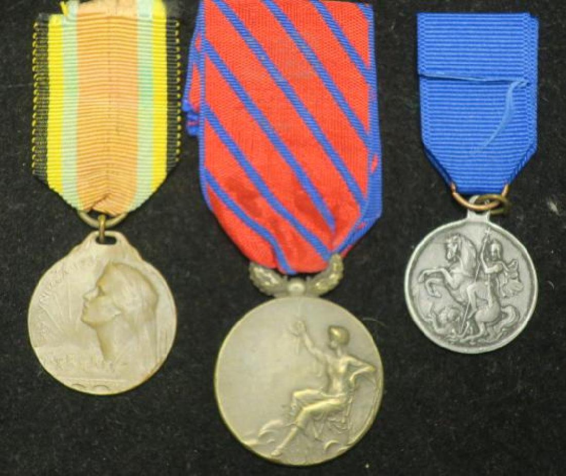 Three Medals ROMANIAN, RUSSIAN & Unknown: