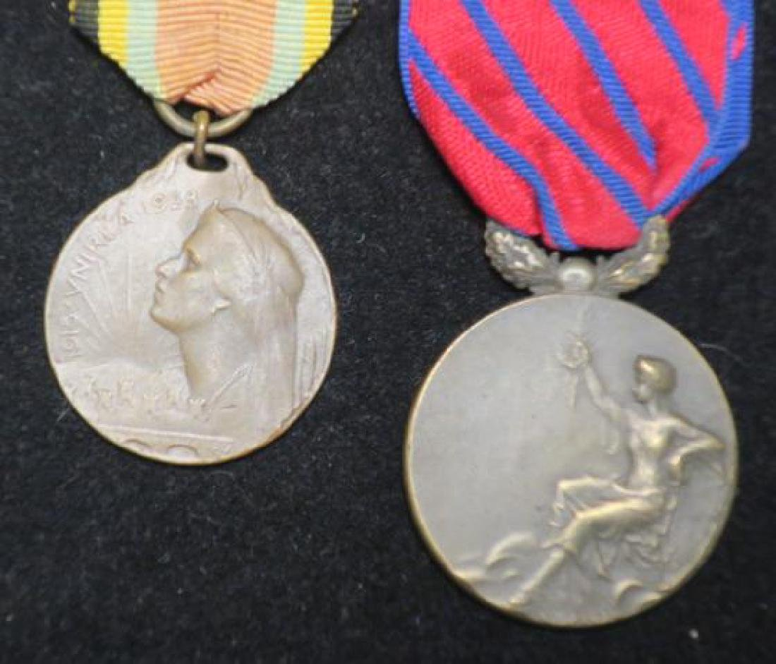 Three Medals ROMANIAN, RUSSIAN & Unknown: - 2